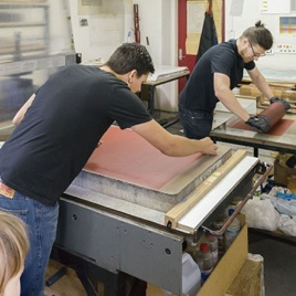 The Print Cast: Collaborative Printing in New Zealand with