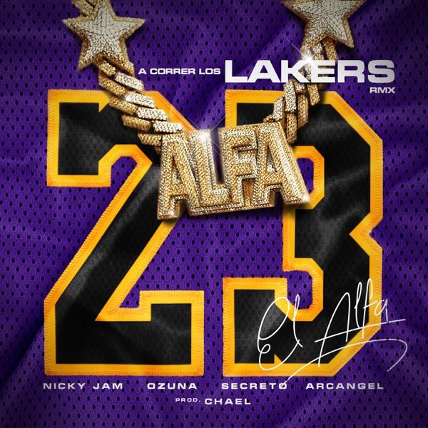 A Correr los Lakers (Remix) [feat. Arcangel & Secreto