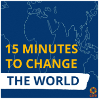Podcast cover art for 15 Minutes to Change the World