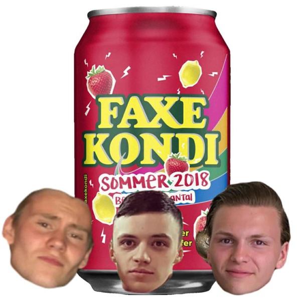 Rauður Faxe Kondi