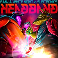 Headband - GANJA WHITE NIGHT-SUBTRONICS