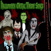 Halloween Metal Theme Songs Arranged for Electric Guitar