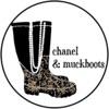chanel & muckboots
