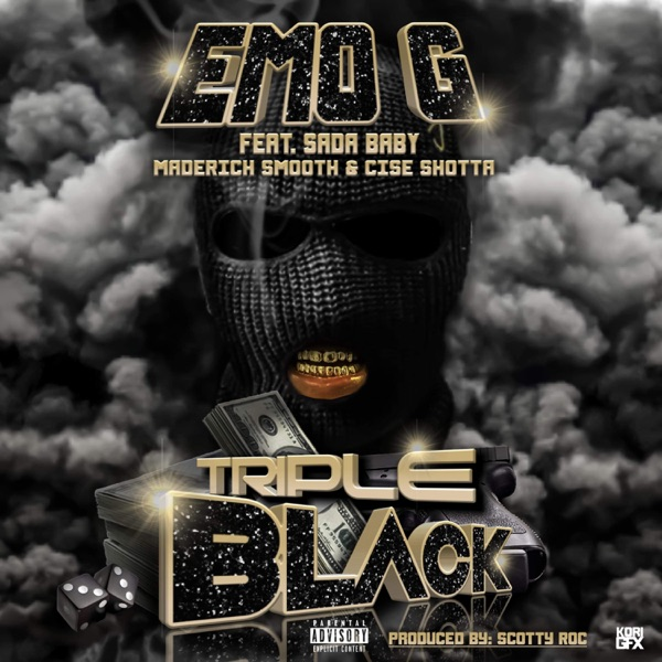 Triple Black (feat. Sada Baby, Maderich Smooth & Cise Shotta) - Single