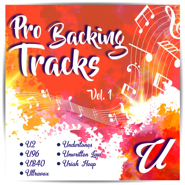 Pro Backing Tracks U, Vol.1