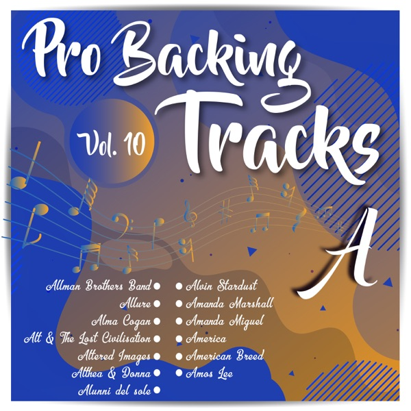 Pro Backing Tracks a, Vol. 10