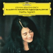 Martha Argerich - J.S. Bach: English Suite No.2 In A Minor, BWV 807 - 1. Prelude