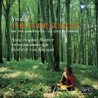 Anne-Sophie Mutter, Herbert von Karajan & Wiener Philharmoniker - Vivaldi: The Four Seasons artwork
