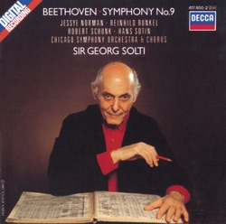 Album: Beethoven Symphony No 9 by Chicago Symphony Orchestra Sir
