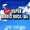 new super mario bros. Wii - game over theme