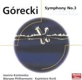 """Henryk Górecki - Symphony No. 3 """"Symphony of Sorrowful Songs"""": II. Lento e largo (Tranquilissimo - cantabilissimo - dolcissimo - legatissimo)"""
