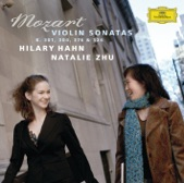 Hilary Hahn and Natalie Zhu - Mozart: Sonata for Piano and Violin in F, K.376 - I. Allegro