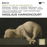 Matthias Goerne, Nikolaus Harnoncourt, Concentus Musicus Wien & Christoph Prégardien - Bach: Matthäus-Passion, BWV 244 (Remastered) artwork
