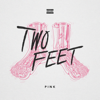 Two Feet - Pink  artwork