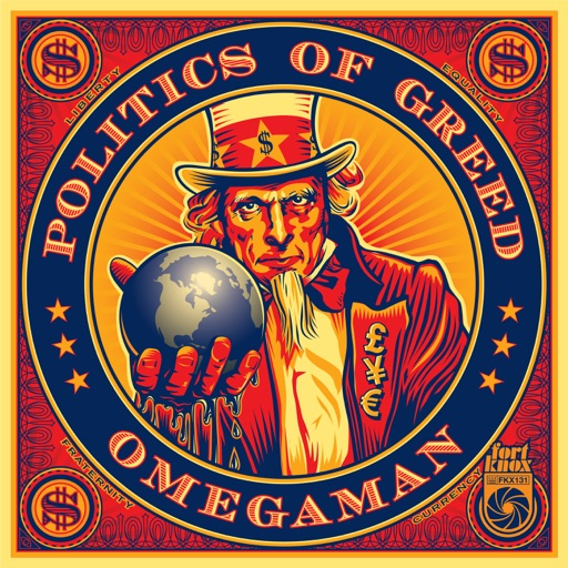 Politics of Greed - EP by Omegaman