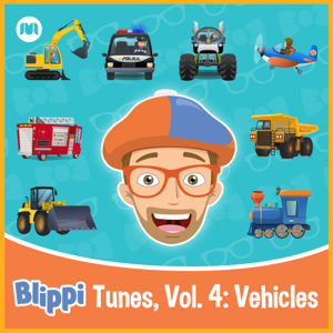 Blippi - Blippi Tunes, Vol. 4: Vehicles