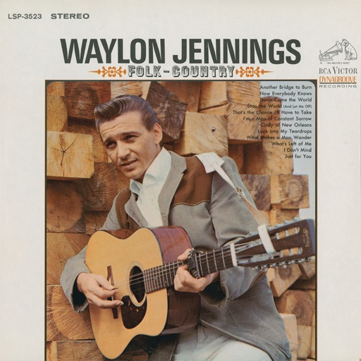 Art for Down Came The World by Waylon Jennings