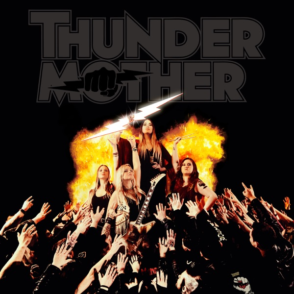 Thundermother mit Dog from Hell