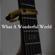 What a Wonderful World (Cover) - Kent Nishimura