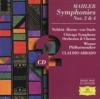 Mahler Symphonies Nos 2 4
