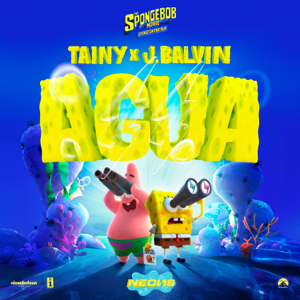 "Tainy & J Balvin - Agua (Music From ""Sponge On The Run"" Movie)"