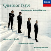 Four Pieces For String Quartet, Op. 81, MWV R 35: 1. Tema con Variazione artwork