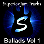 Dreamy Rock Ballad Guitar Backing Track E Minor - Superior Jam Tracks - Superior Jam Tracks