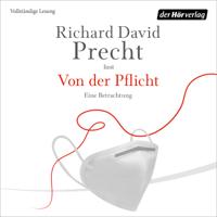 Richard David Precht - Von der Pflicht artwork