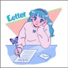 Letter by みきなつみ