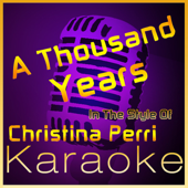 A Thousand Years In The Style Of Christina Perri [Karaoke Instrumental Version] High Frequency Karaoke - High Frequency Karaoke
