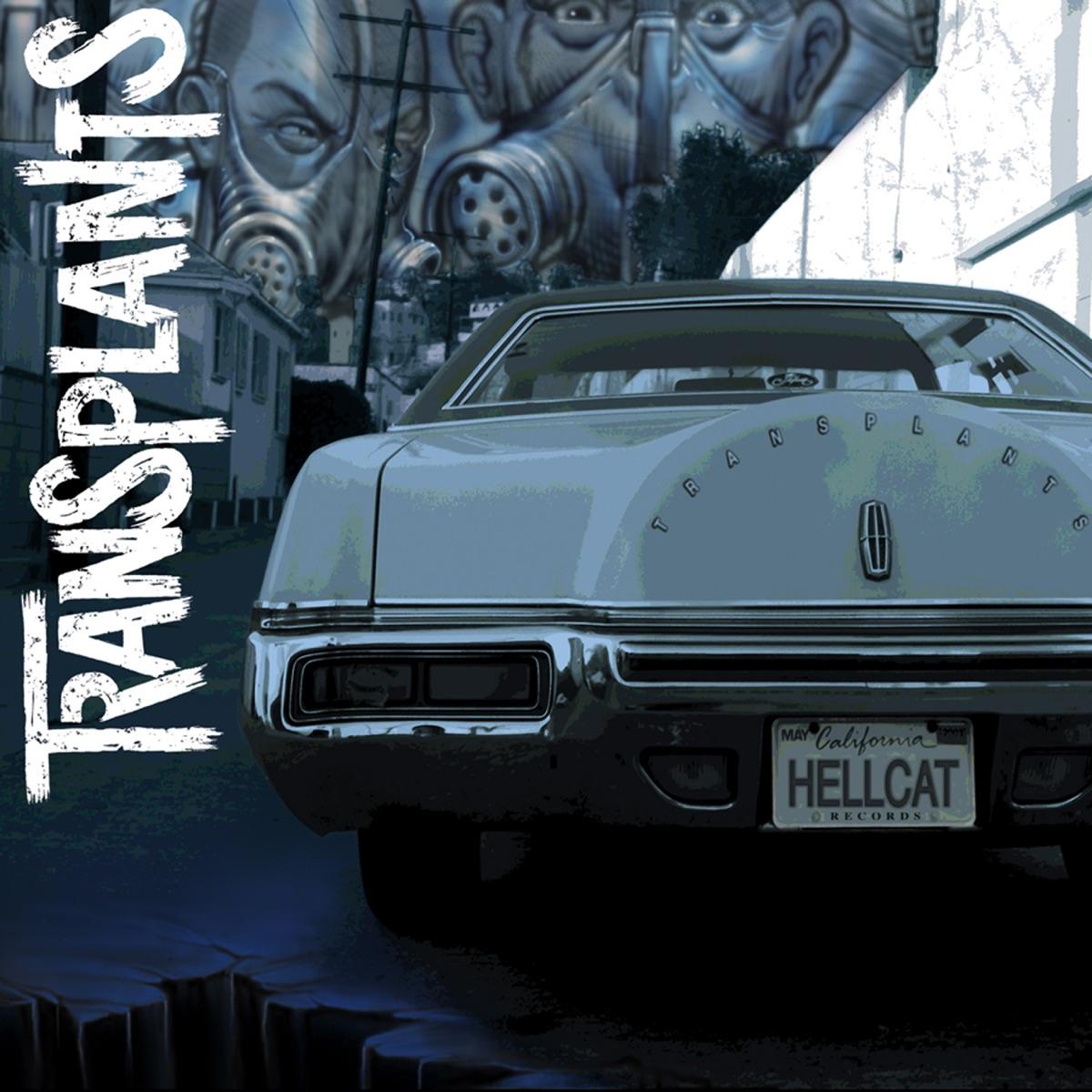 Cover of music album Transplants