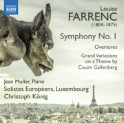 Farrenc: Orchestral Works - Jean Muller, Solistes Europeens, Luxembourg & Christoph König