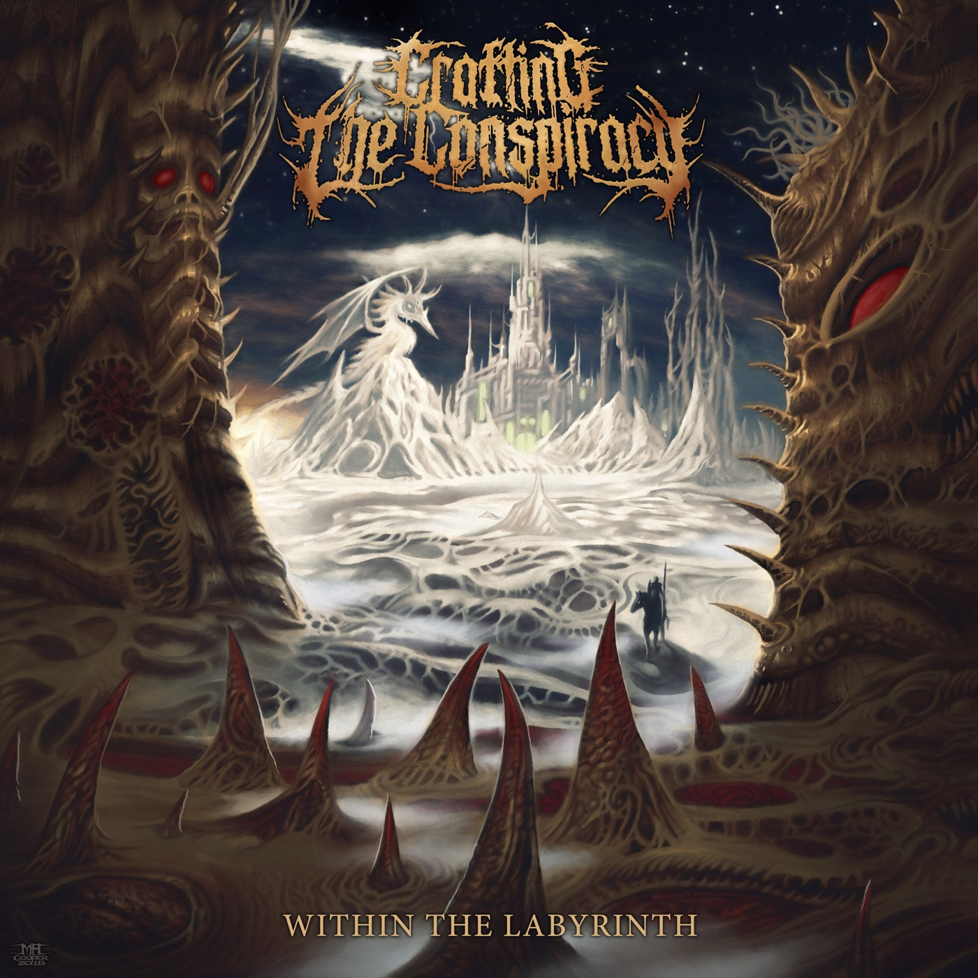 Crafting The Conspiracy - Within The Labyrinth (feat. Dan Watson of Enterprise Earth) [Single] (2018)