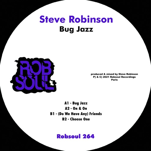 Bug Jazz - EP by Steve Robinson (UK)