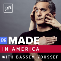 Podcast cover art for Remade in America with Bassem Youssef