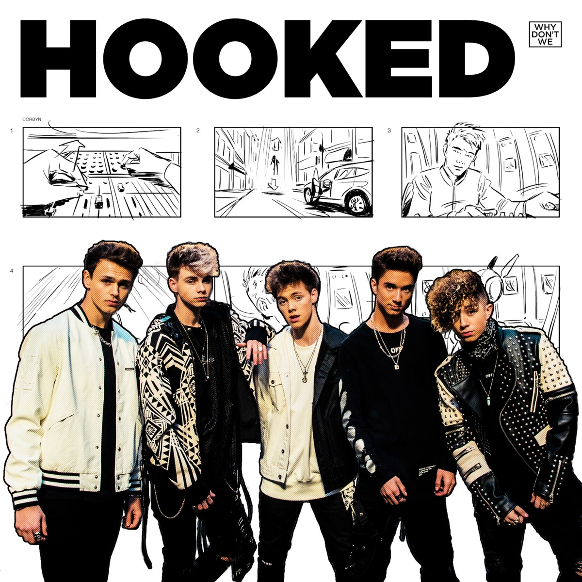 Hooked - Single Why Dont We CD cover
