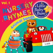 Animal Songs and Nursery Rhymes for Children, Vol. 1 - Fun Songs for Learning with LittleBabyBum
