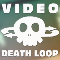 Podcast cover art for Video Death Loop