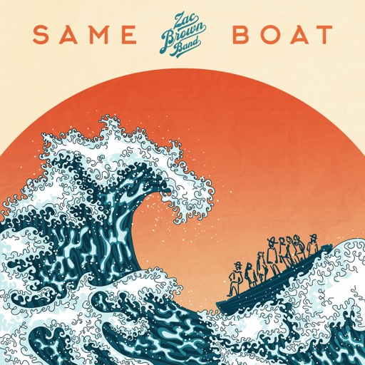Art for Same Boat by Zac Brown Band