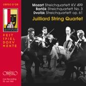 """Wolfgang Amadeus Mozart - String Quartet No. 20 in D Major, K. 499 """"Hoffmeister"""": IV. Allegro (Live)"""