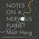 Matt Haig - Notes on a Nervous Planet (Unabridged)