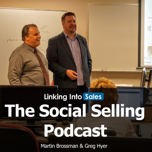 Cover image of The Social Selling Podcast by Linking into Sales