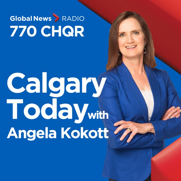 Calgary Today with Angela Kokott par CHQR / Curiouscast sur