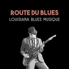 Route du blues: Louisiana blues musique - Lounge guitar bar, vintage l'amour, lisse rock