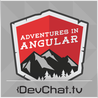 Podcast cover art for Adventures in Angular