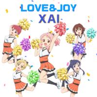 XAI - LOVE&JOY (TVアニメ「アニマエール!」挿入歌) artwork
