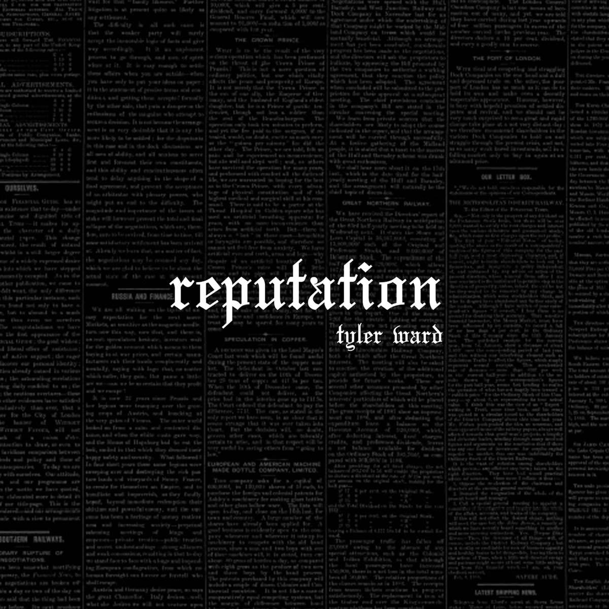 Reputation – A Tyler Ward Tribute to Taylor Swift Tyler Ward CD cover