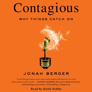 Contagious (Unabridged) - Jonah Berger audiobook, mp3