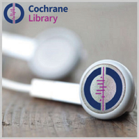 Podcast cover art for Podcasts from the Cochrane Library