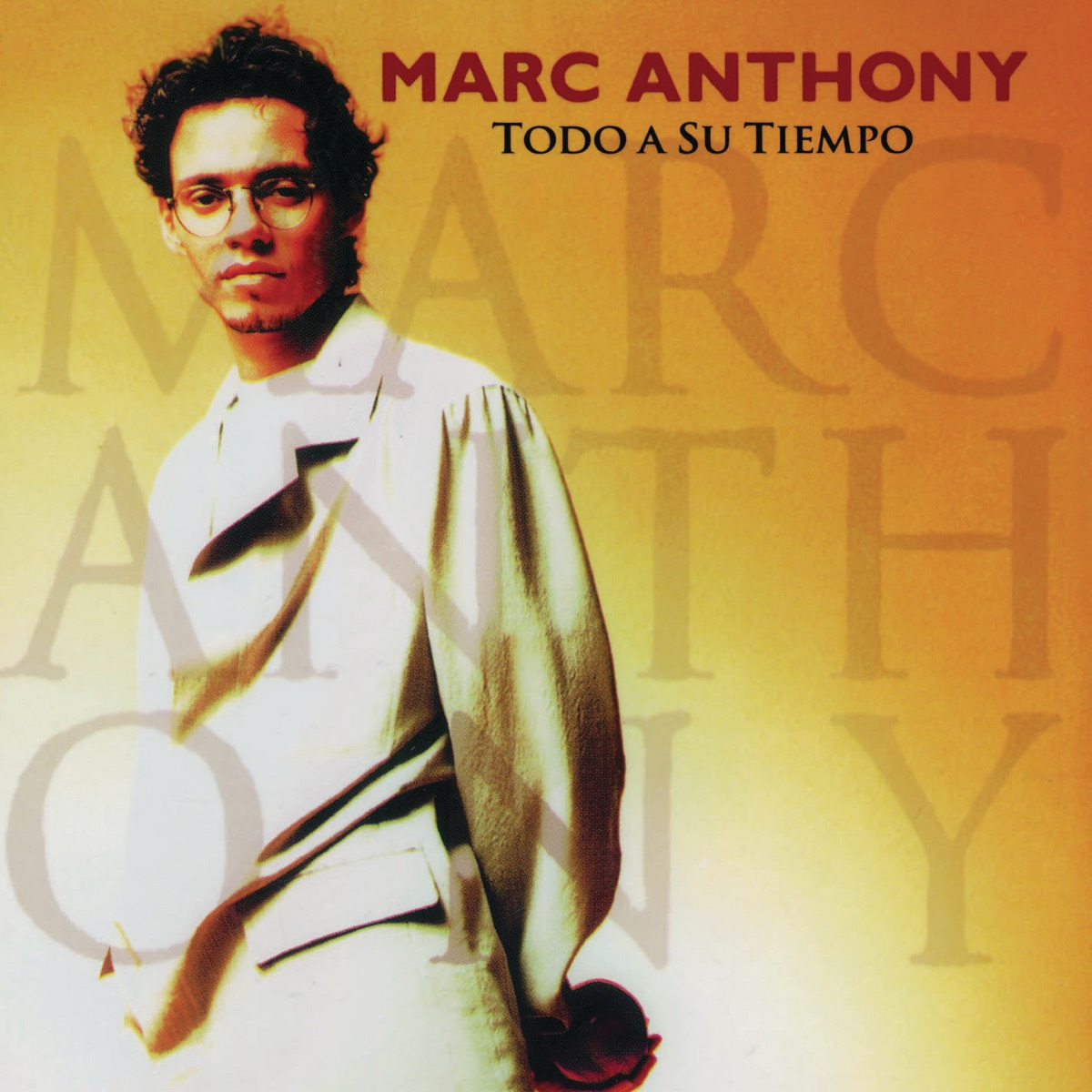 Todo a Su Tiempo Marc Anthony CD cover